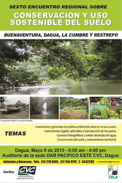 6 Encuentro Regional sobre conservación y uso sostenible del suelo